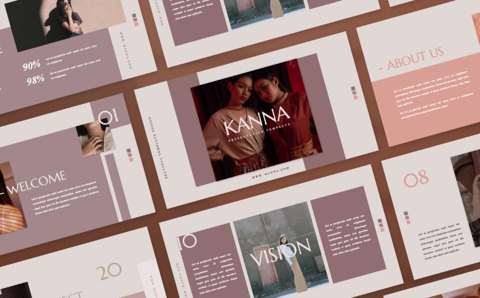 Kanna Presentation PowerPoint Template