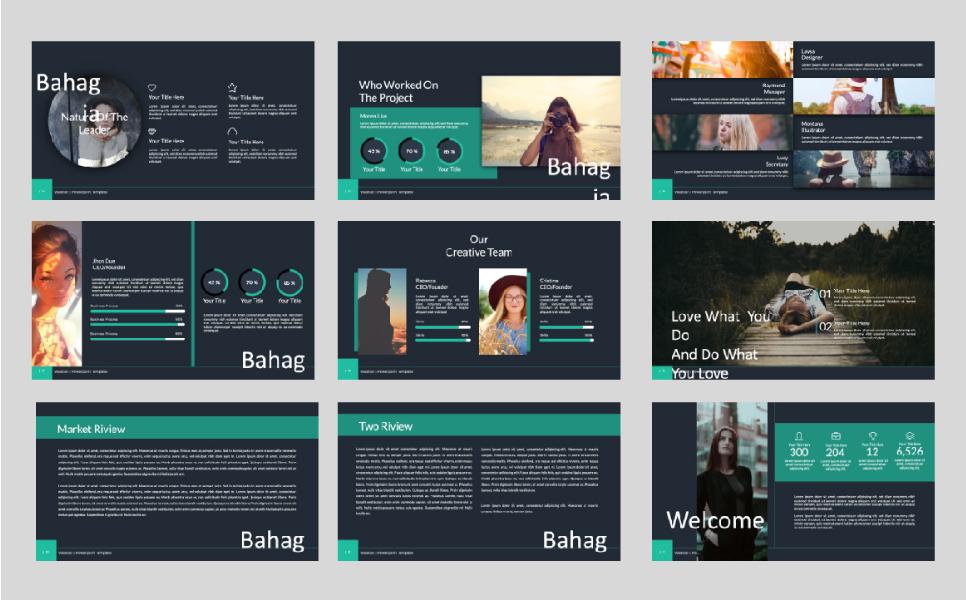 Bahagia PowerPoint Template