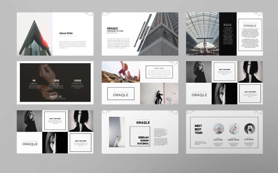 ORAQLE PowerPoint Template
