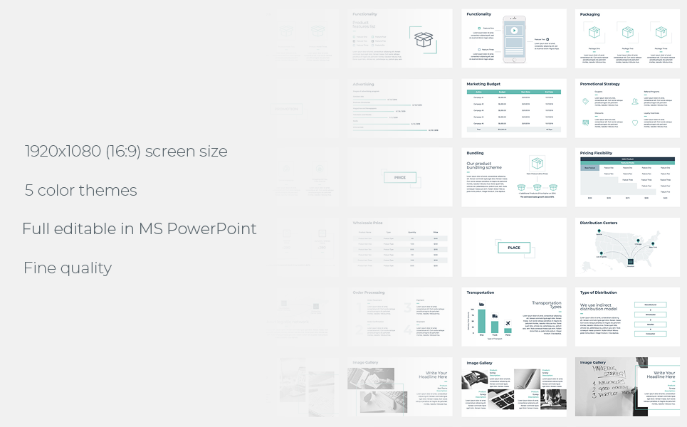 Marketing Strategy PowerPoint Template