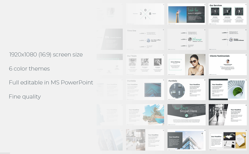 Proxima PowerPoint Template