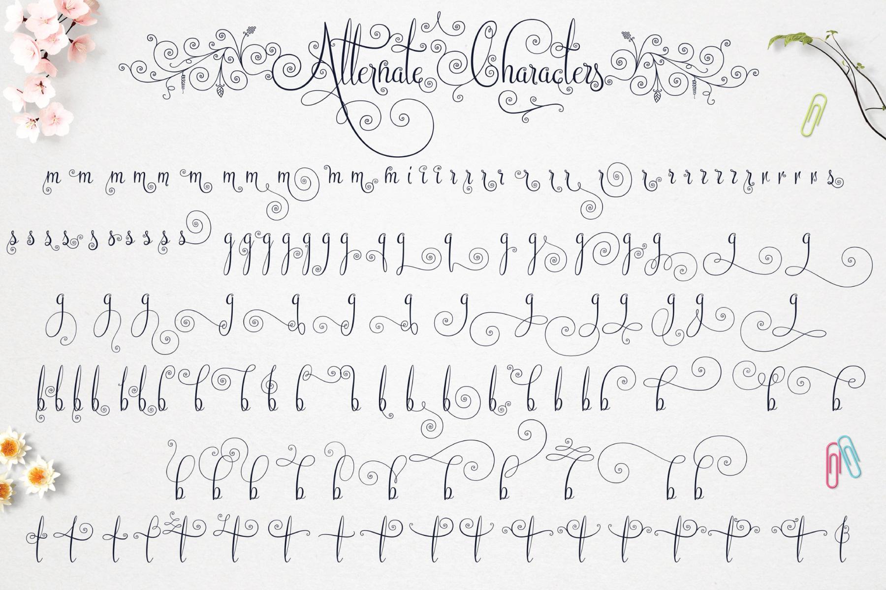 Beautiful Friends Script Fonts