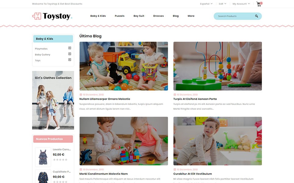 ToysToy - Kids Toy Store PrestaShop Theme
