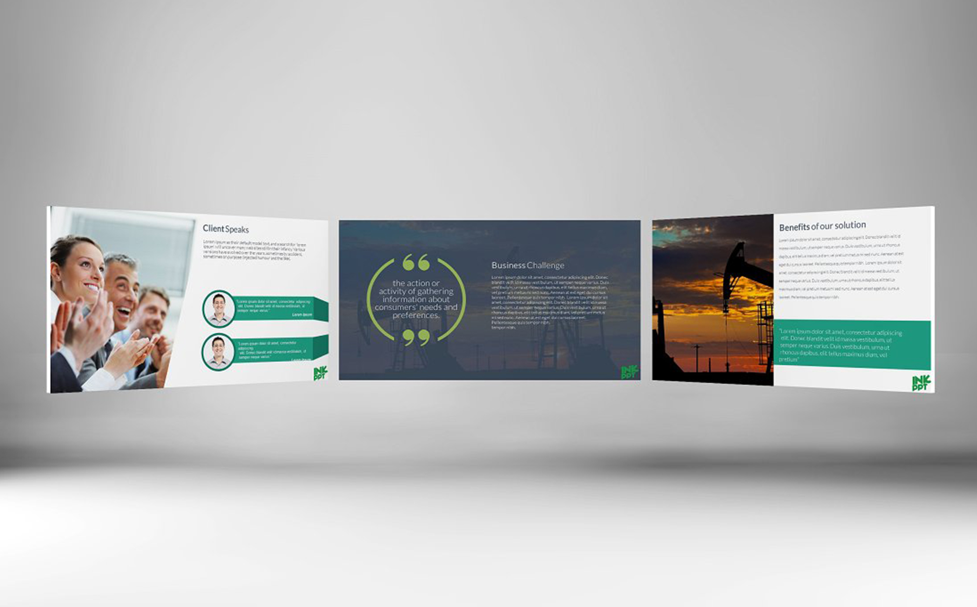 Art & Photography PowerPoint Template | Website Templates