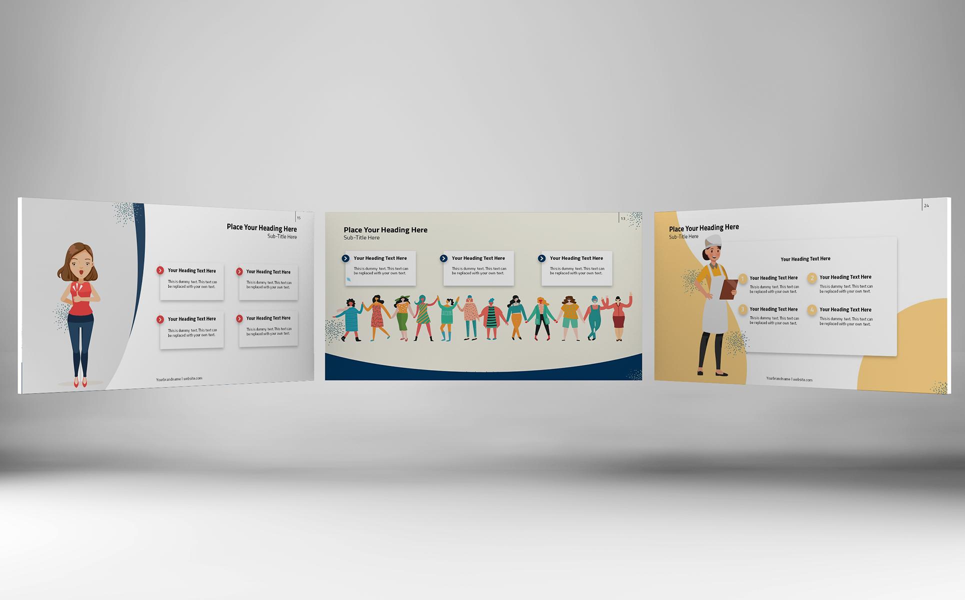 Women Empowerment - PowerPoint Template