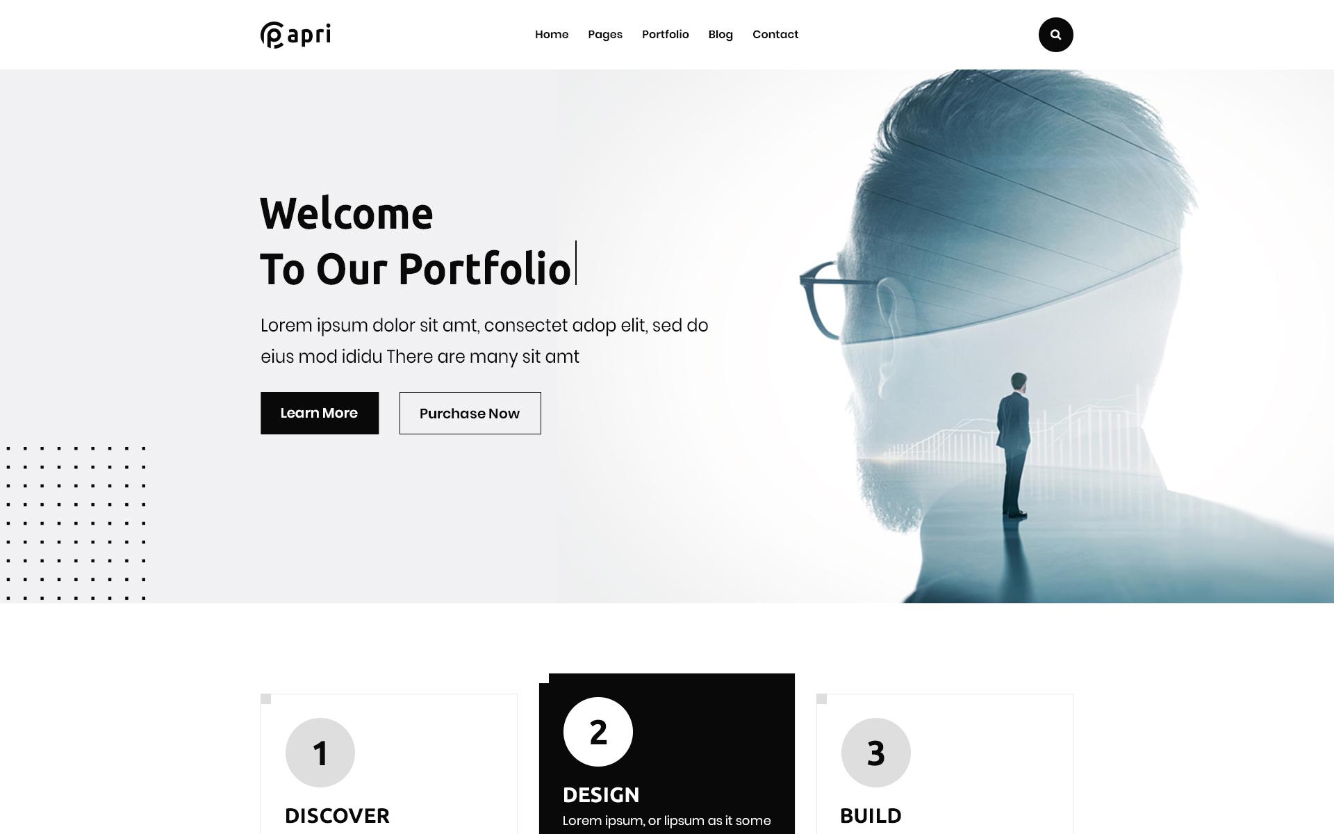 Papri - Portfolio Creative WordPress Theme