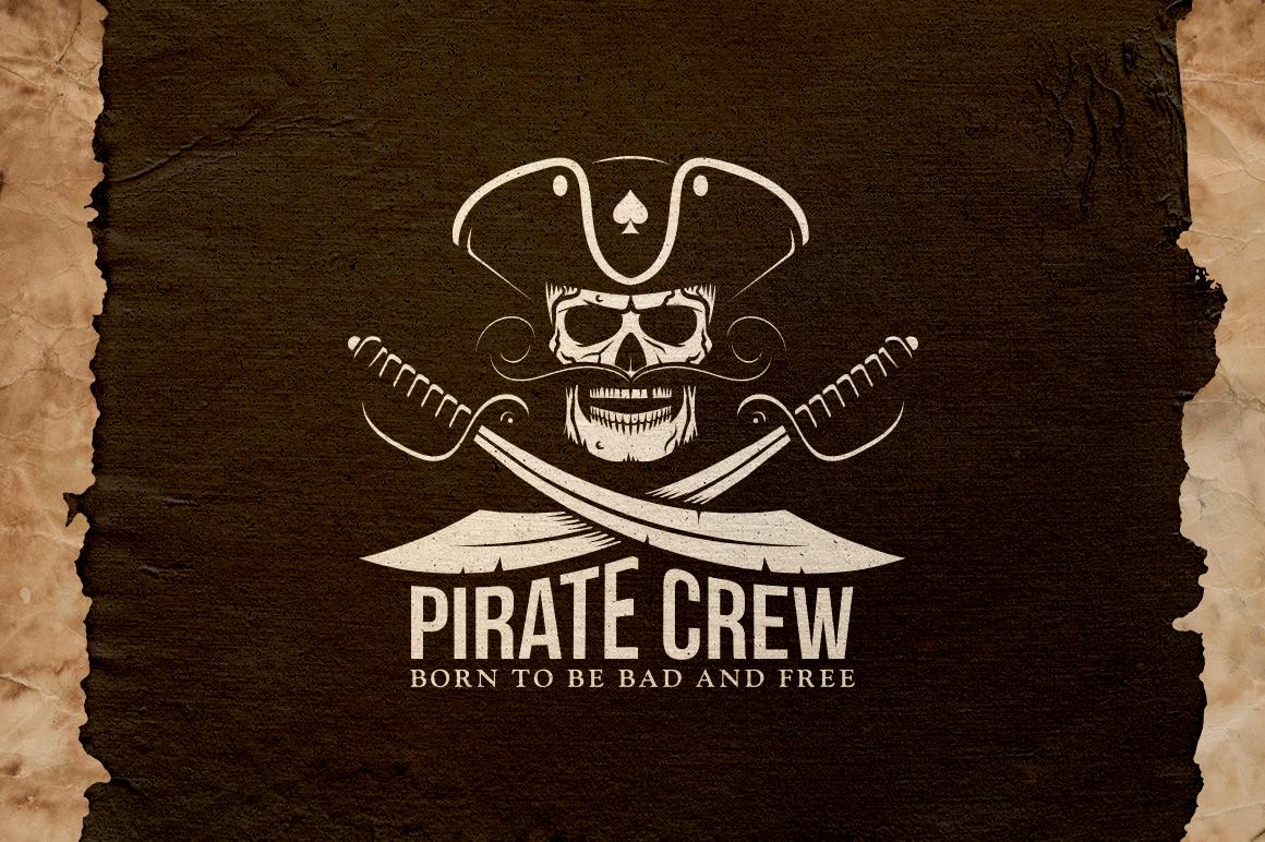 Pirate Crew Emblem Illustrations
