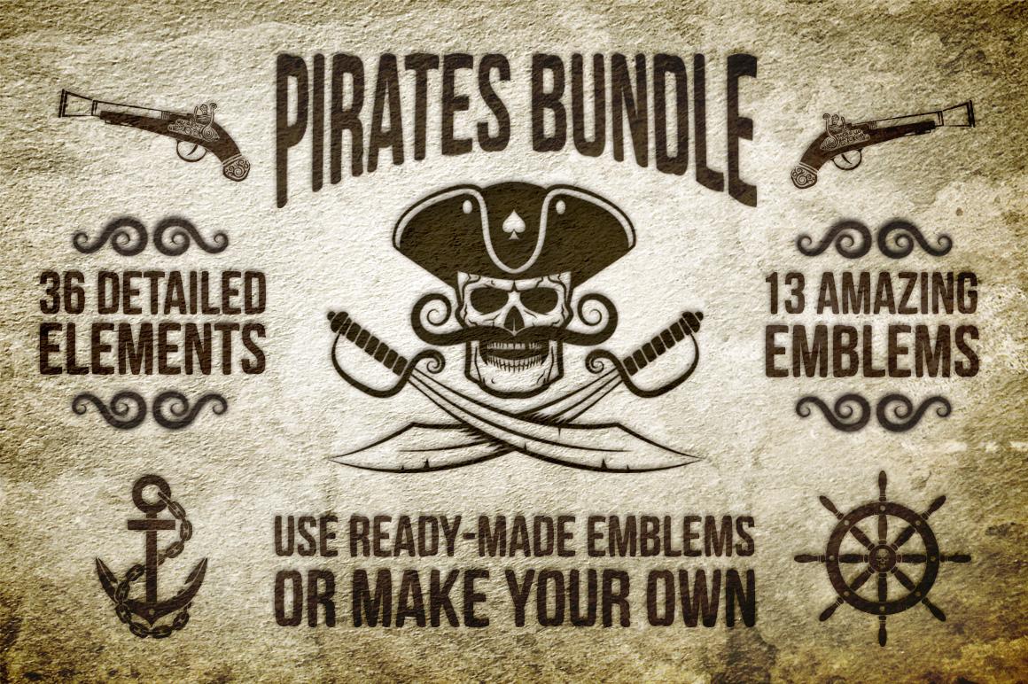 Pirate Bundle Illustrations