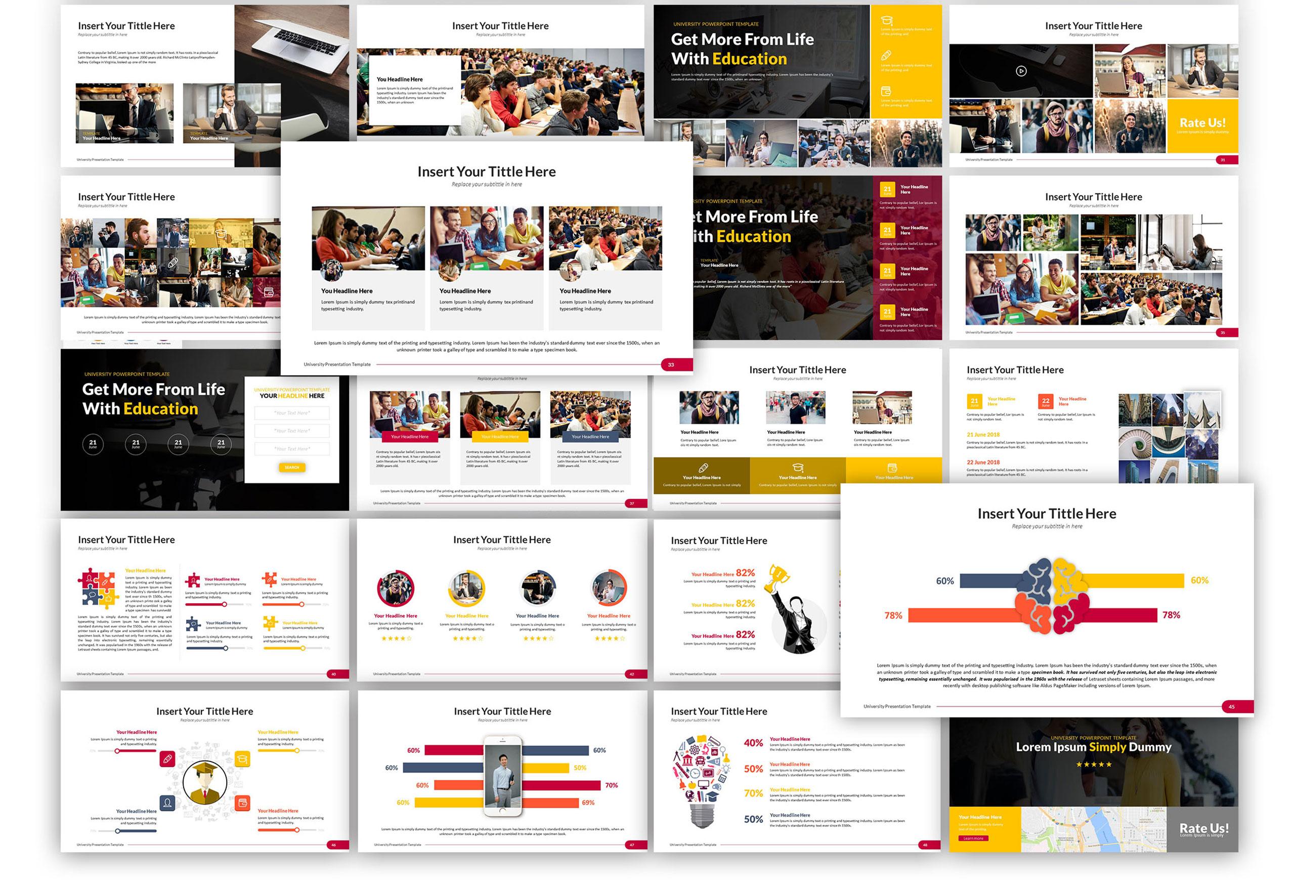 University - Education PowerPoint Template