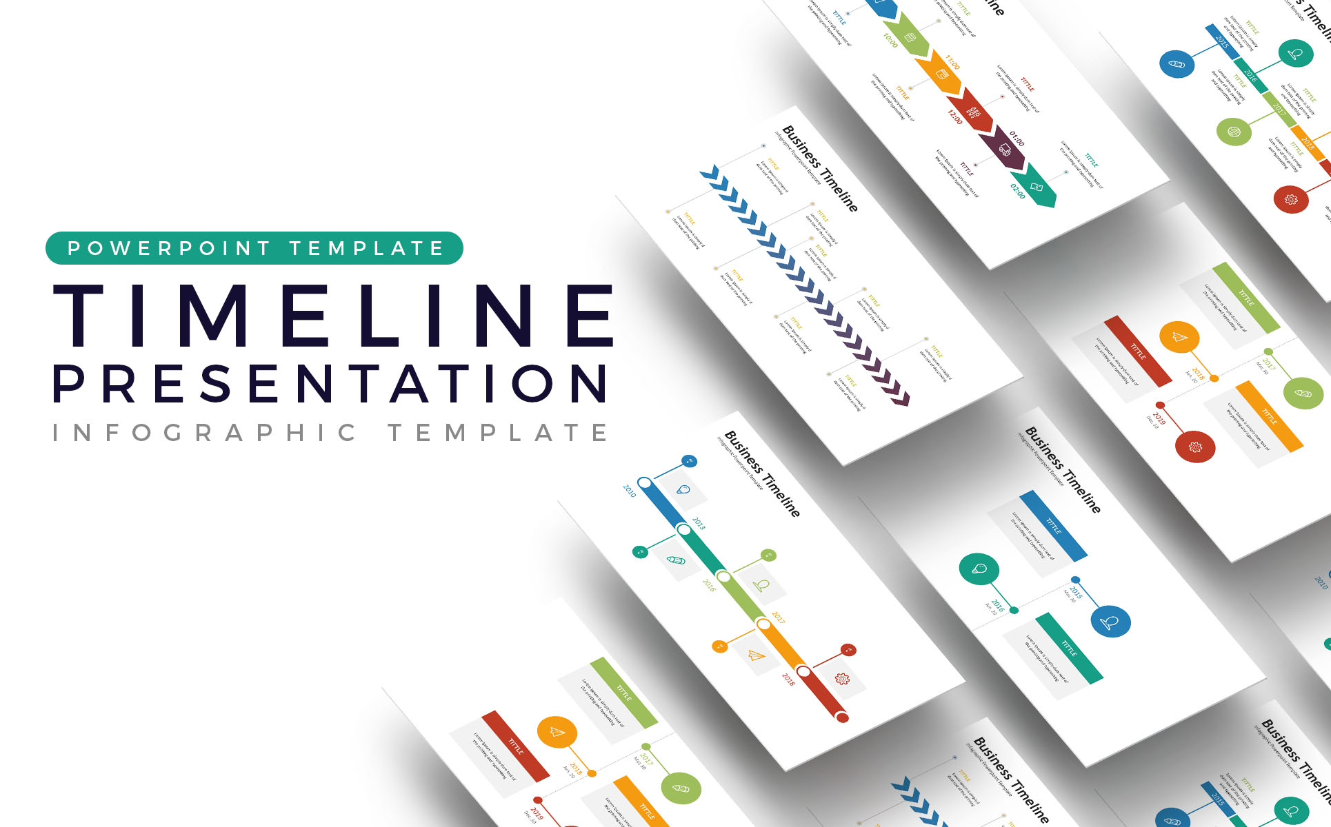 Timeline  - Infographic Presentation PowerPoint Template