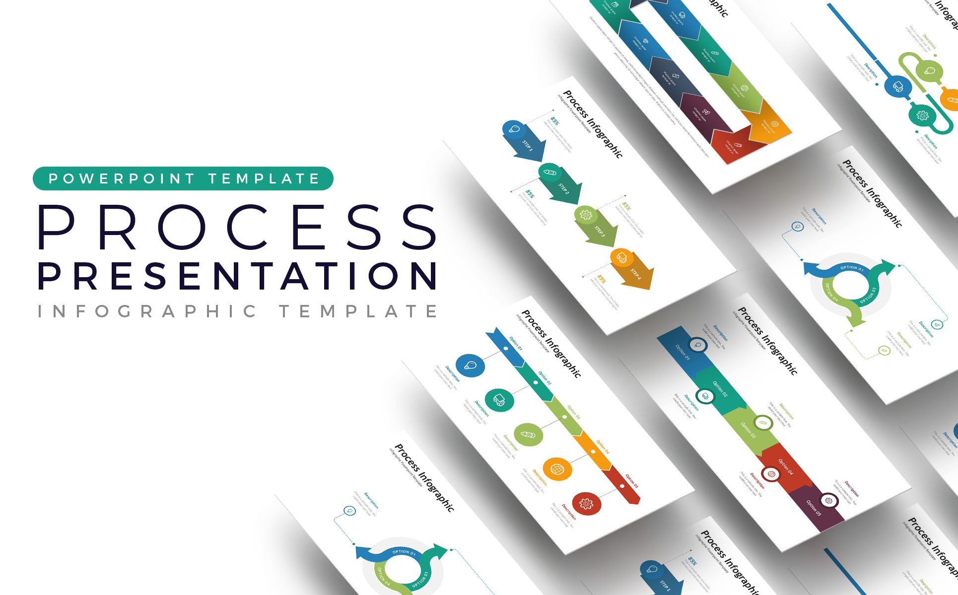 Process Presentation - Infographic PowerPoint Template