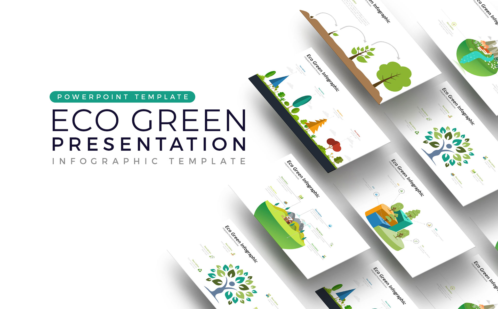 Eco Presentation - Infographic PowerPoint Template