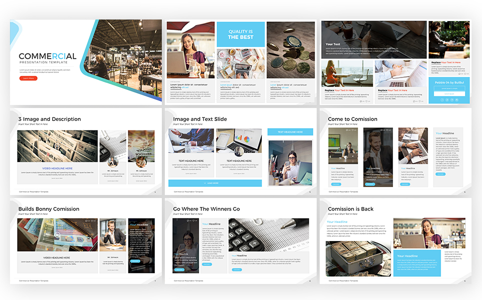 Commercial - Keynote Template