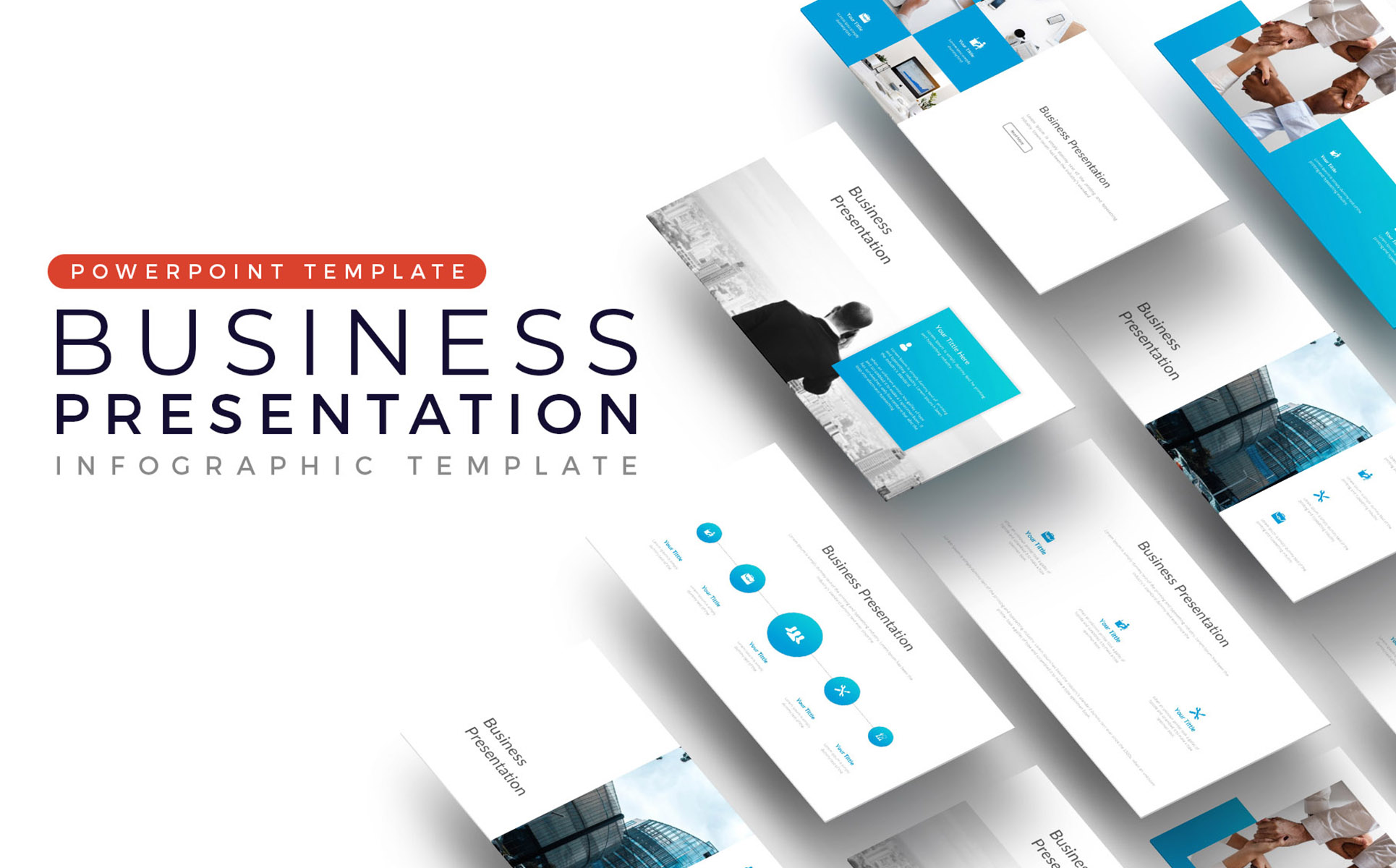 Big Business - Clean PowerPoint Template