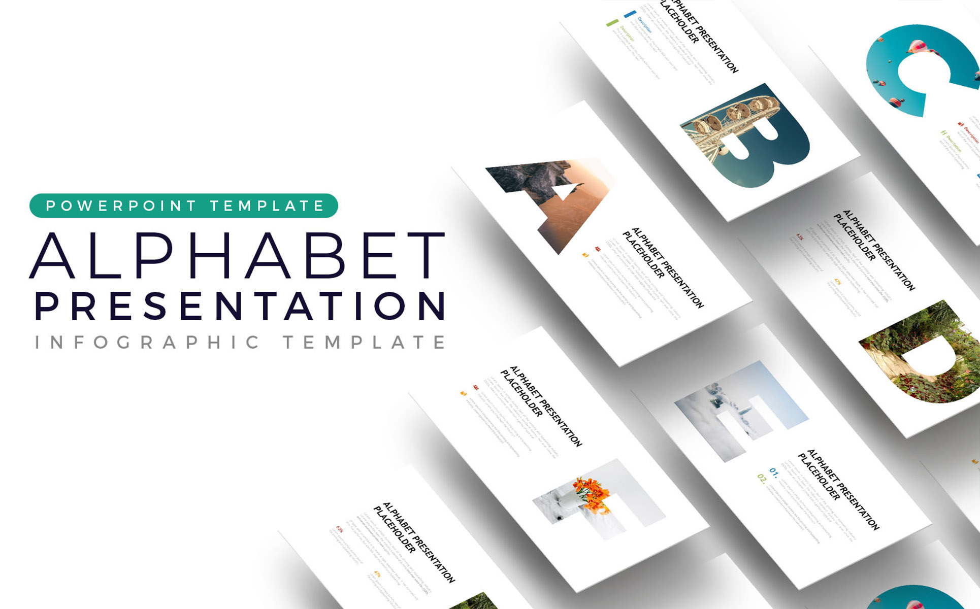 Alphabet - Infographic PowerPoint Template