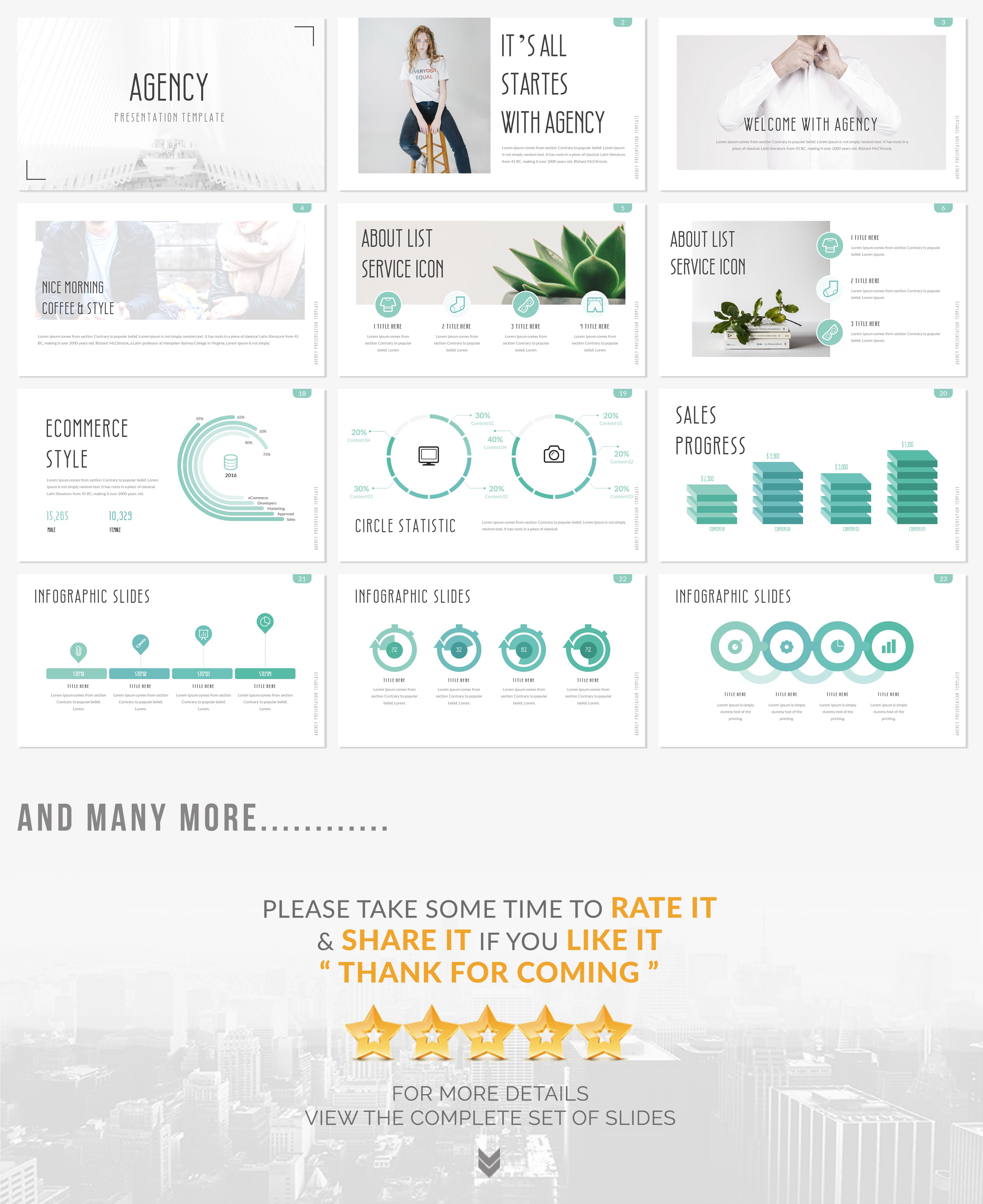 AGENCY Keynote Presentation Template Keynote Template