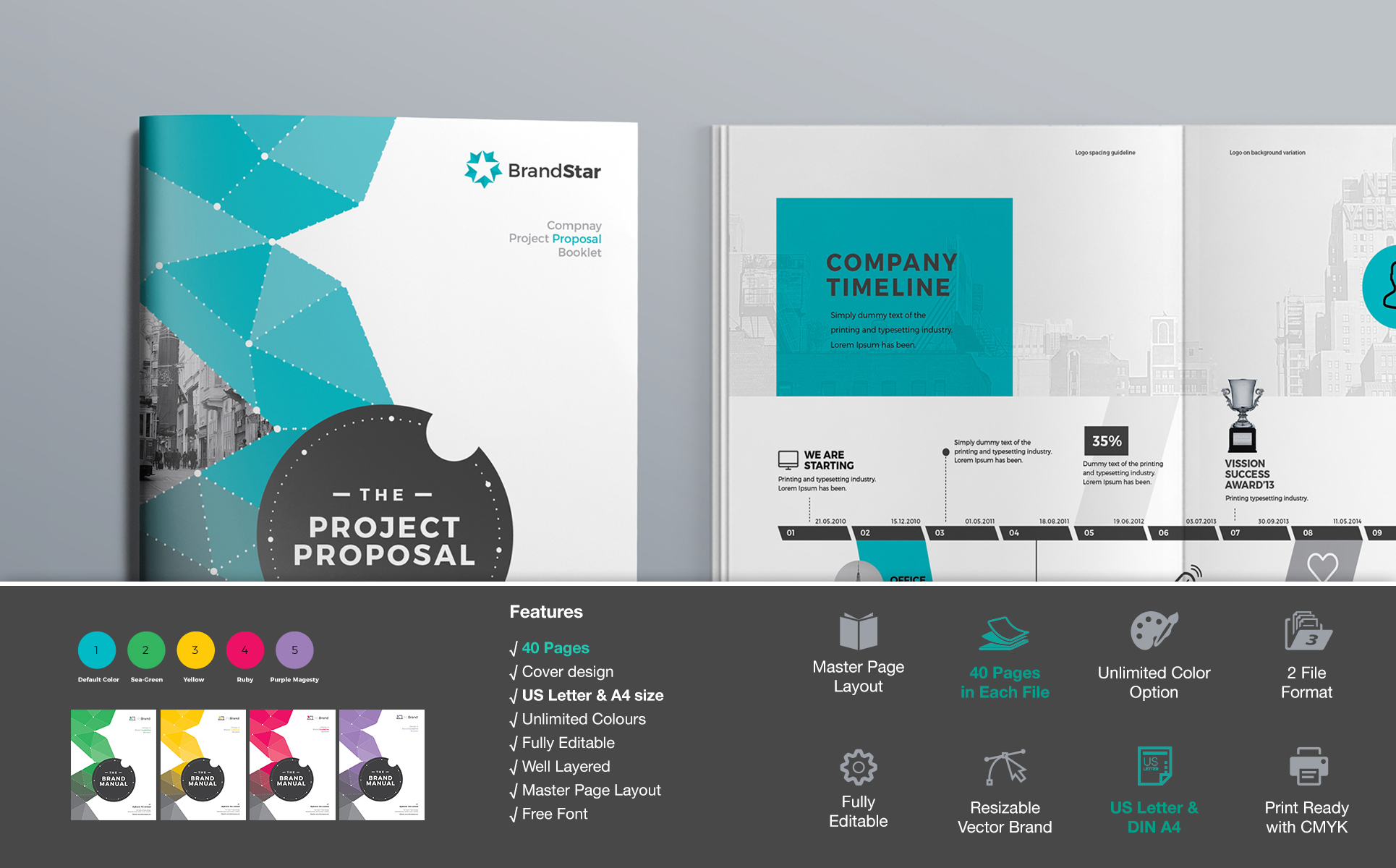 Business Proposal Corporate Identity