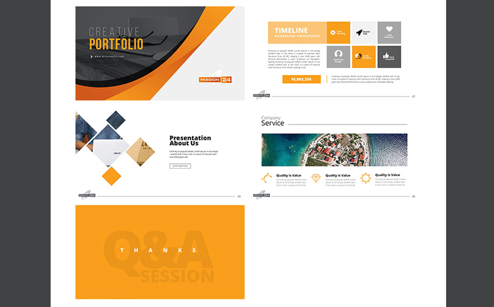 _Computer & IT Services PowerPoint Template