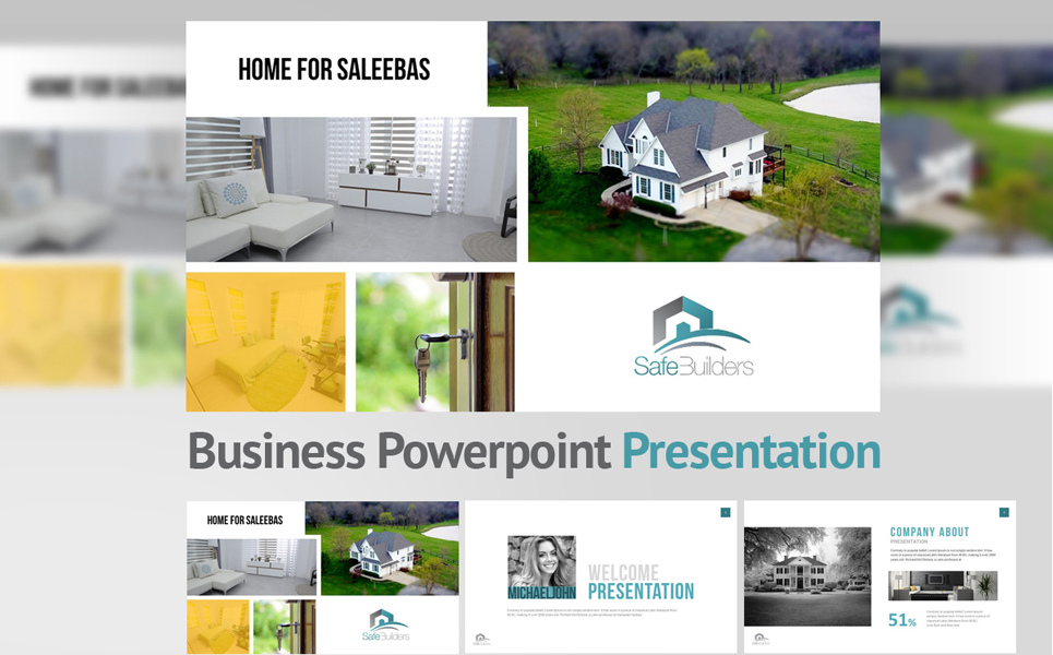 Safe Builders PowerPoint Template
