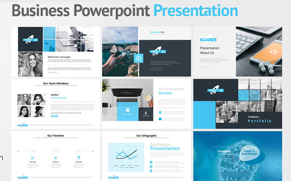 Mission 24 PowerPoint Template