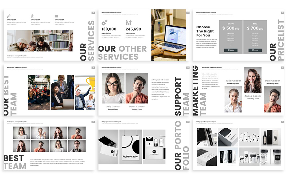 Inka - Creative PowerPoint Template