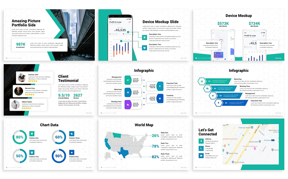 Evolu - Business PowerPoint Template