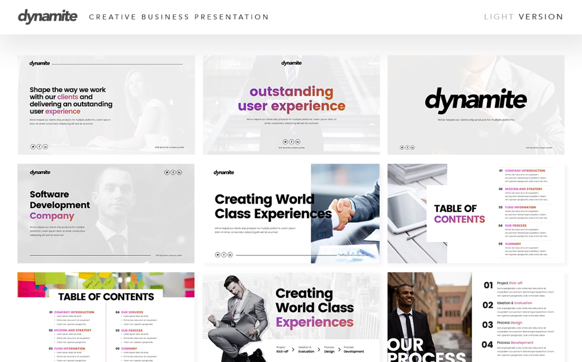 Dynamite - Creative PowerPoint Template