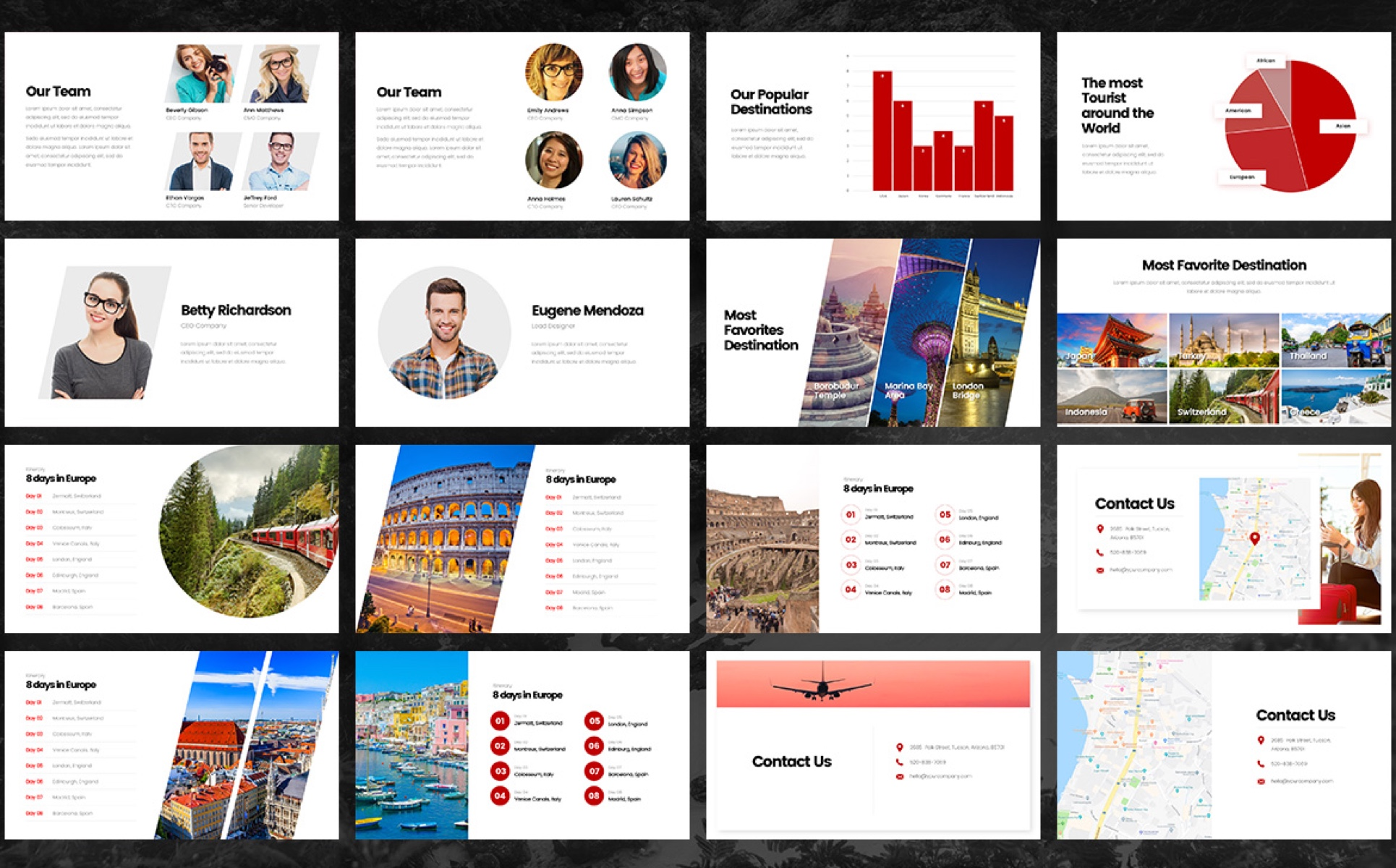 Dolan - Travel Tour PowerPoint Template