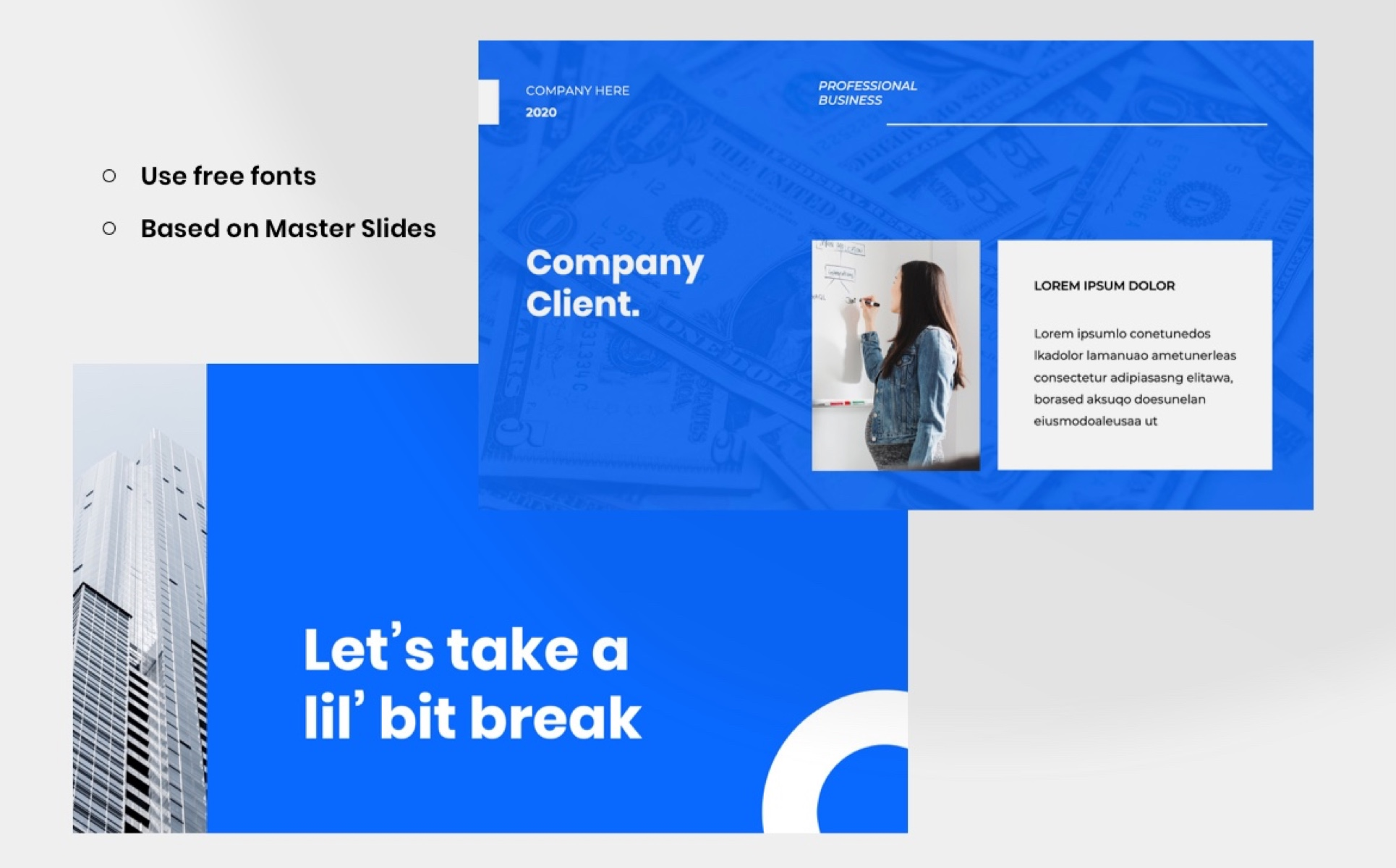 PRO COMPANY - Business PowerPoint Template