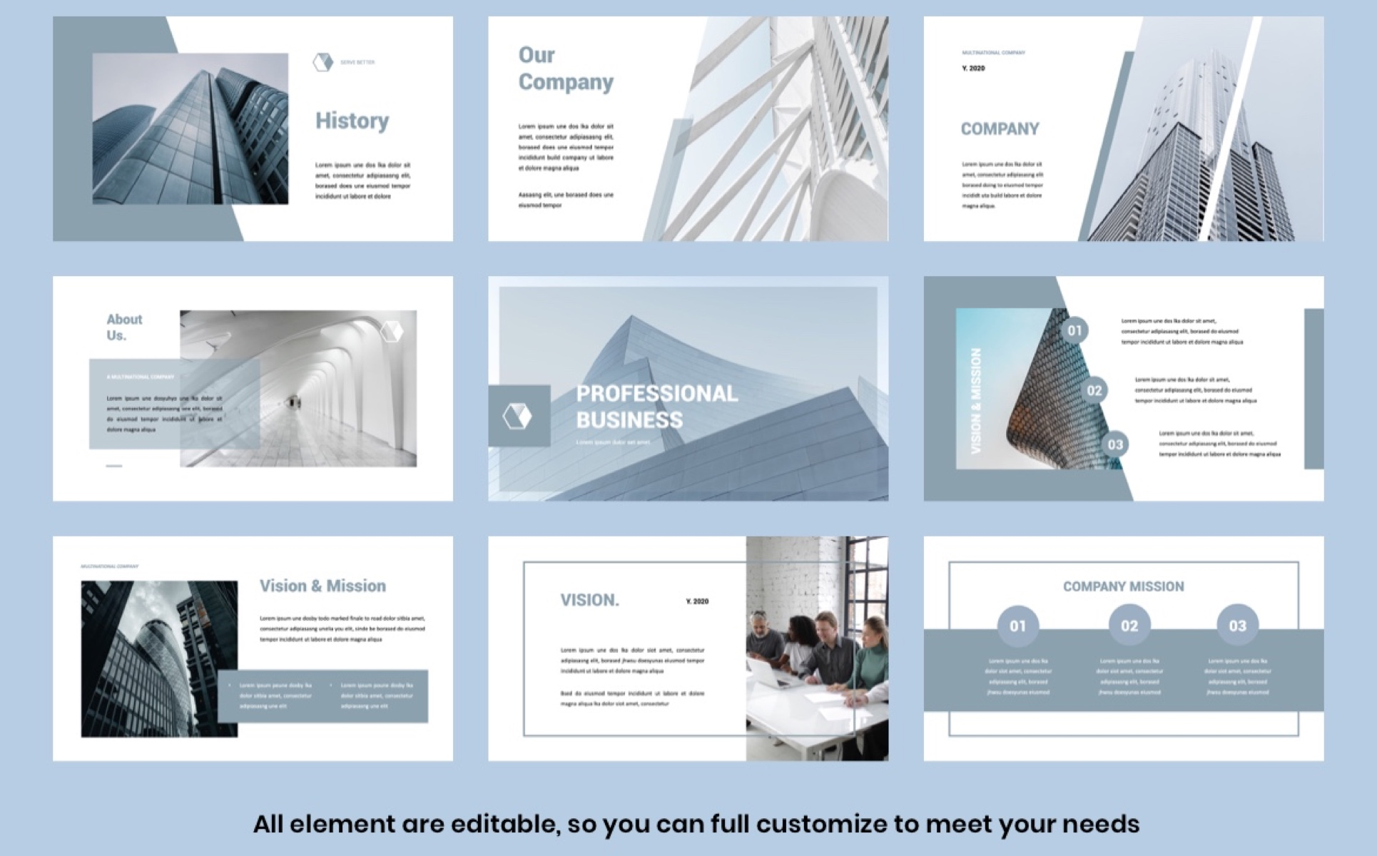 PRO BUSINESS  - Business PowerPoint Template