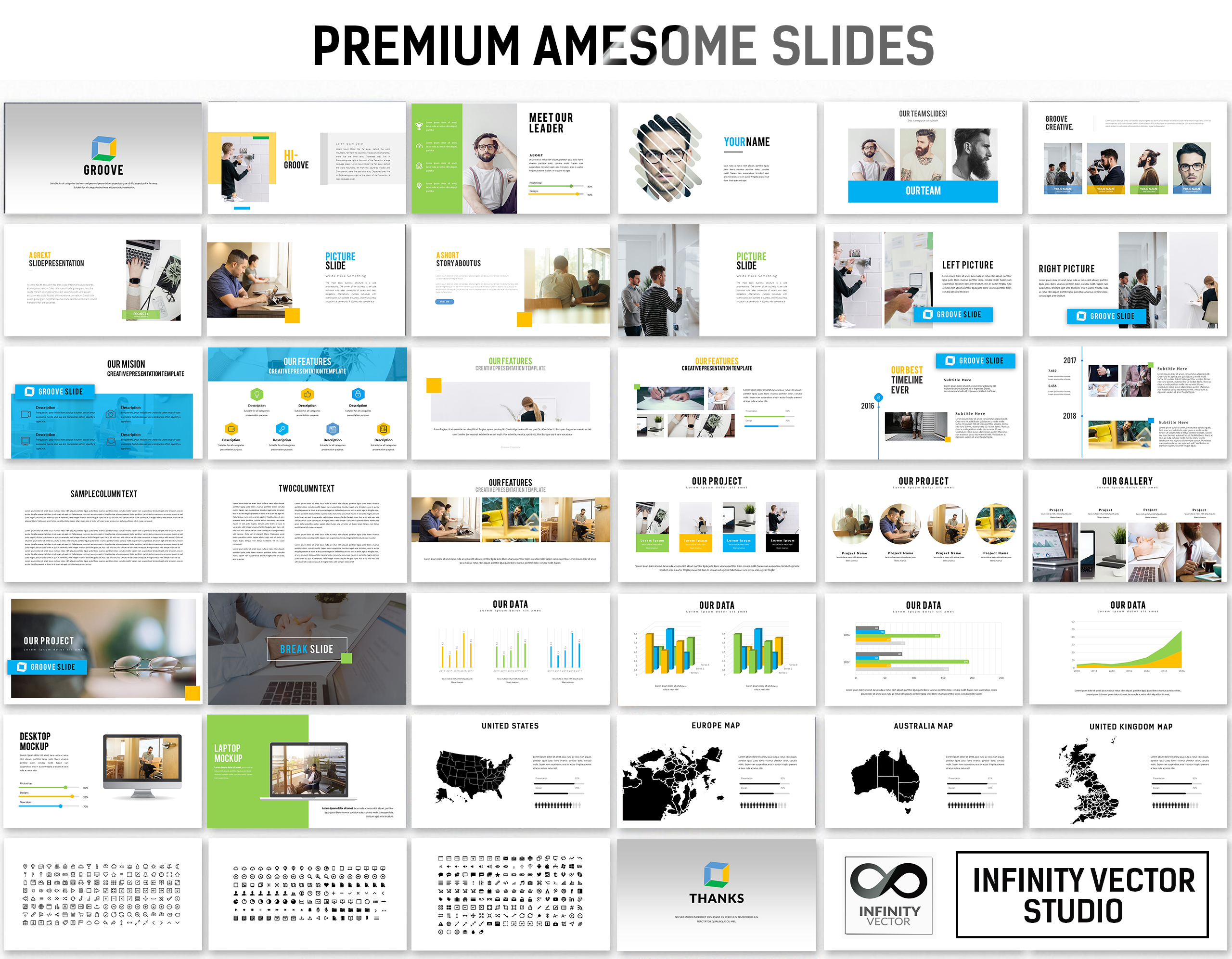 Groove Business Keynote Template