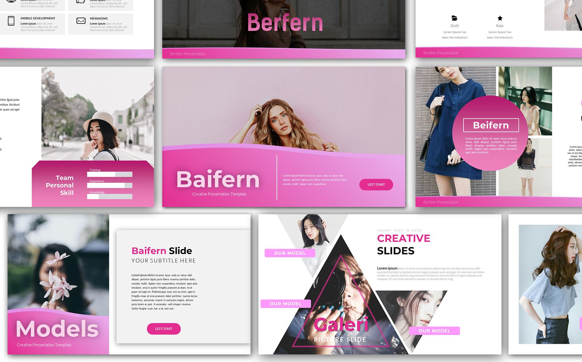 Baifern Creative Keynote Template
