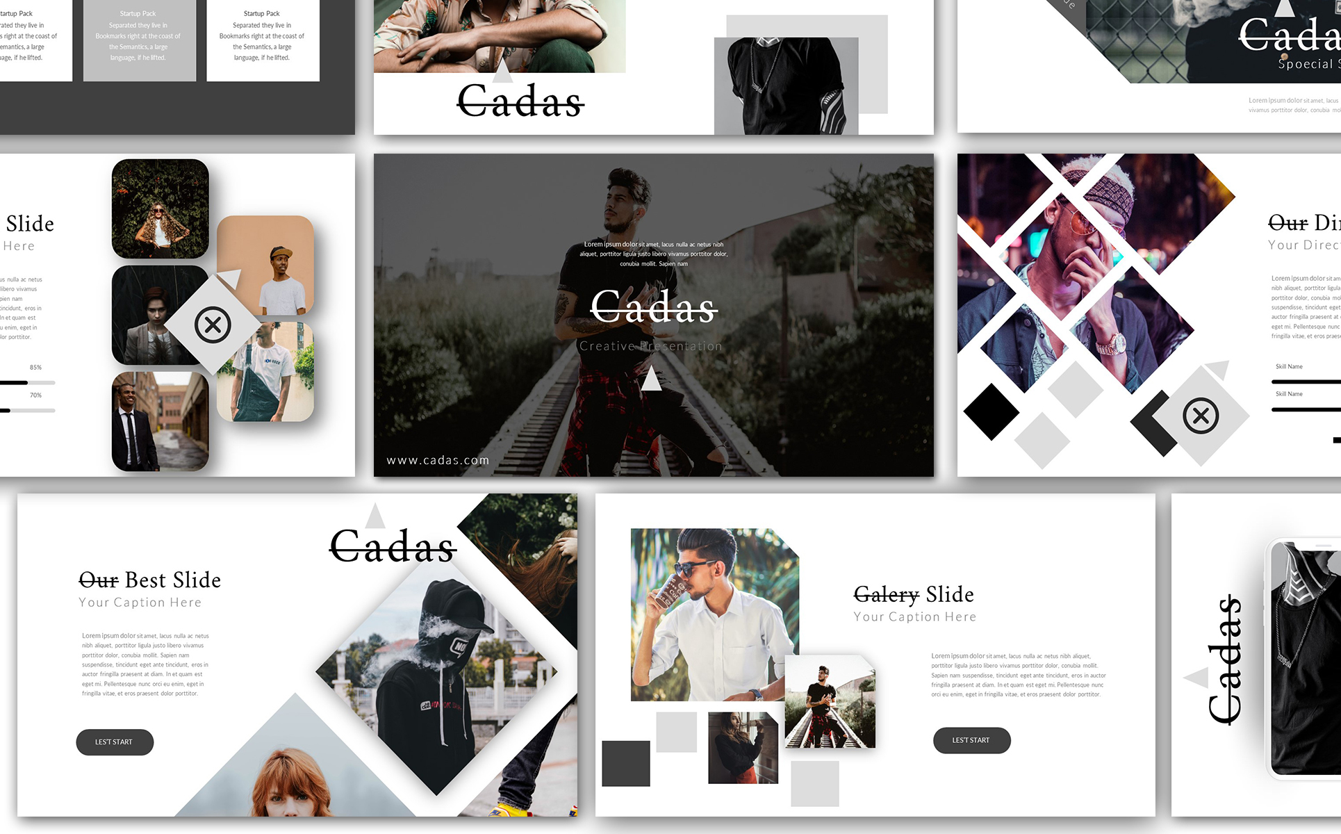 Cadas Creative Keynote Template