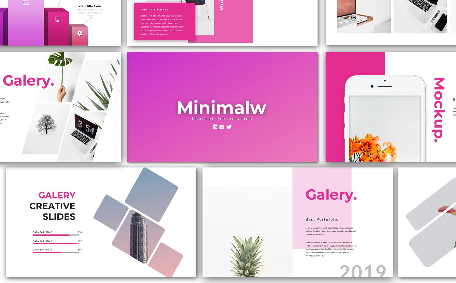 Minimalw - PowerPoint Template