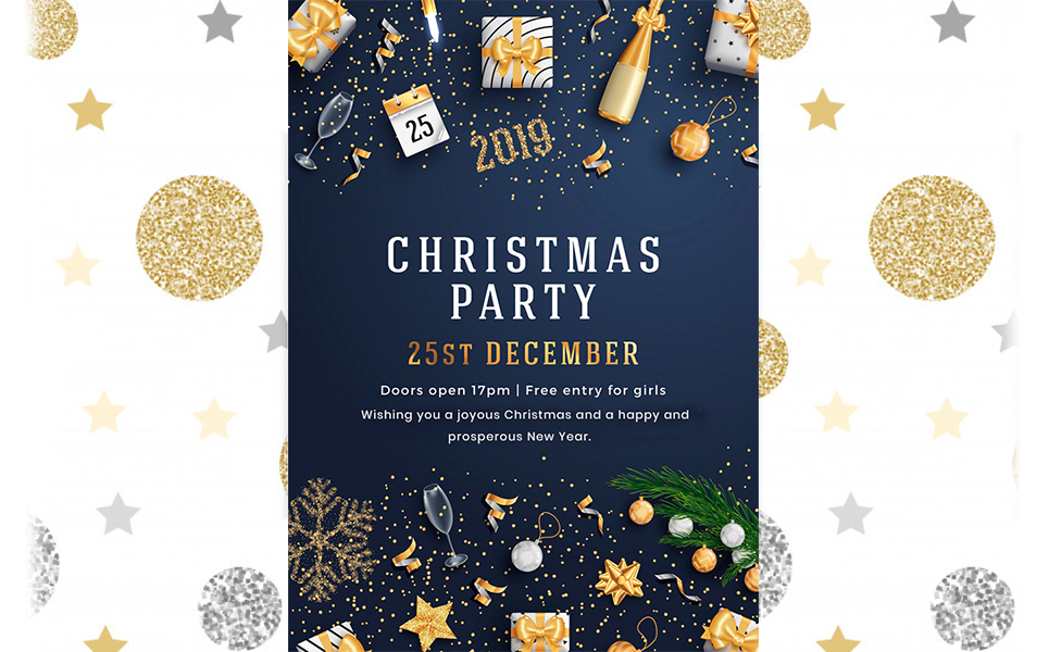 Merry Christmas & Happy New Year Newsletter Template