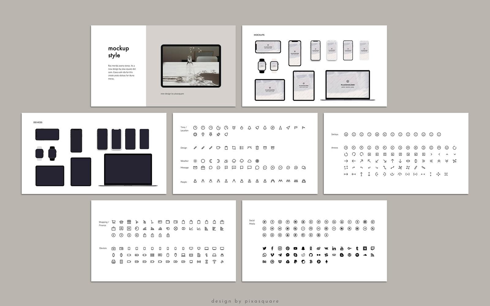 KARA - Media Kit Branding PowerPoint Template