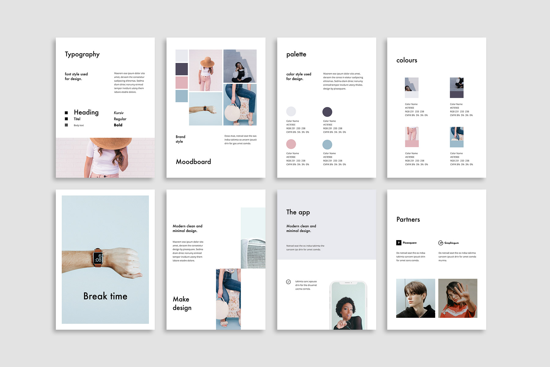 FORM - Vertical PowerPoint Template