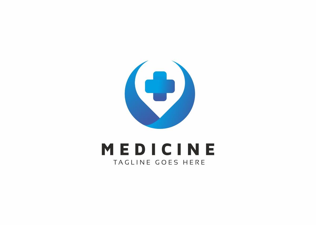 Medicine Medical Cross Logo Template