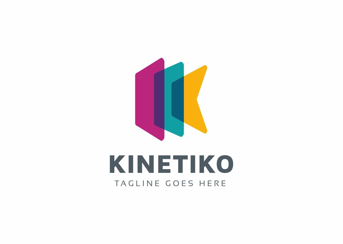 Kinetiko K Letter Logo Template