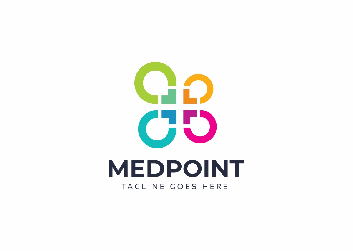 Medical Point Logo Template