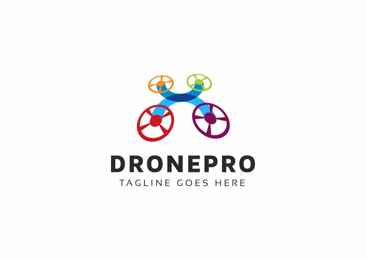 Drone Pro Logo Template