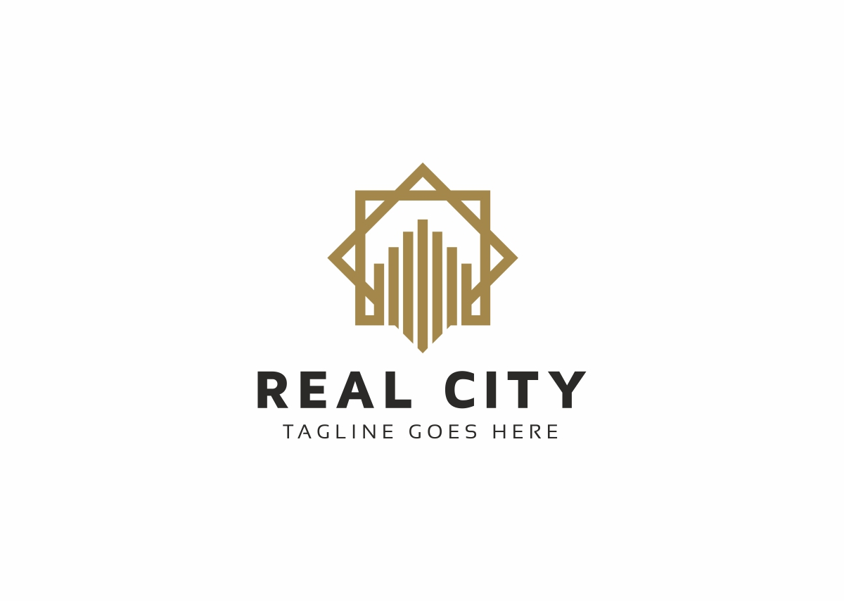 Real City Logo Template