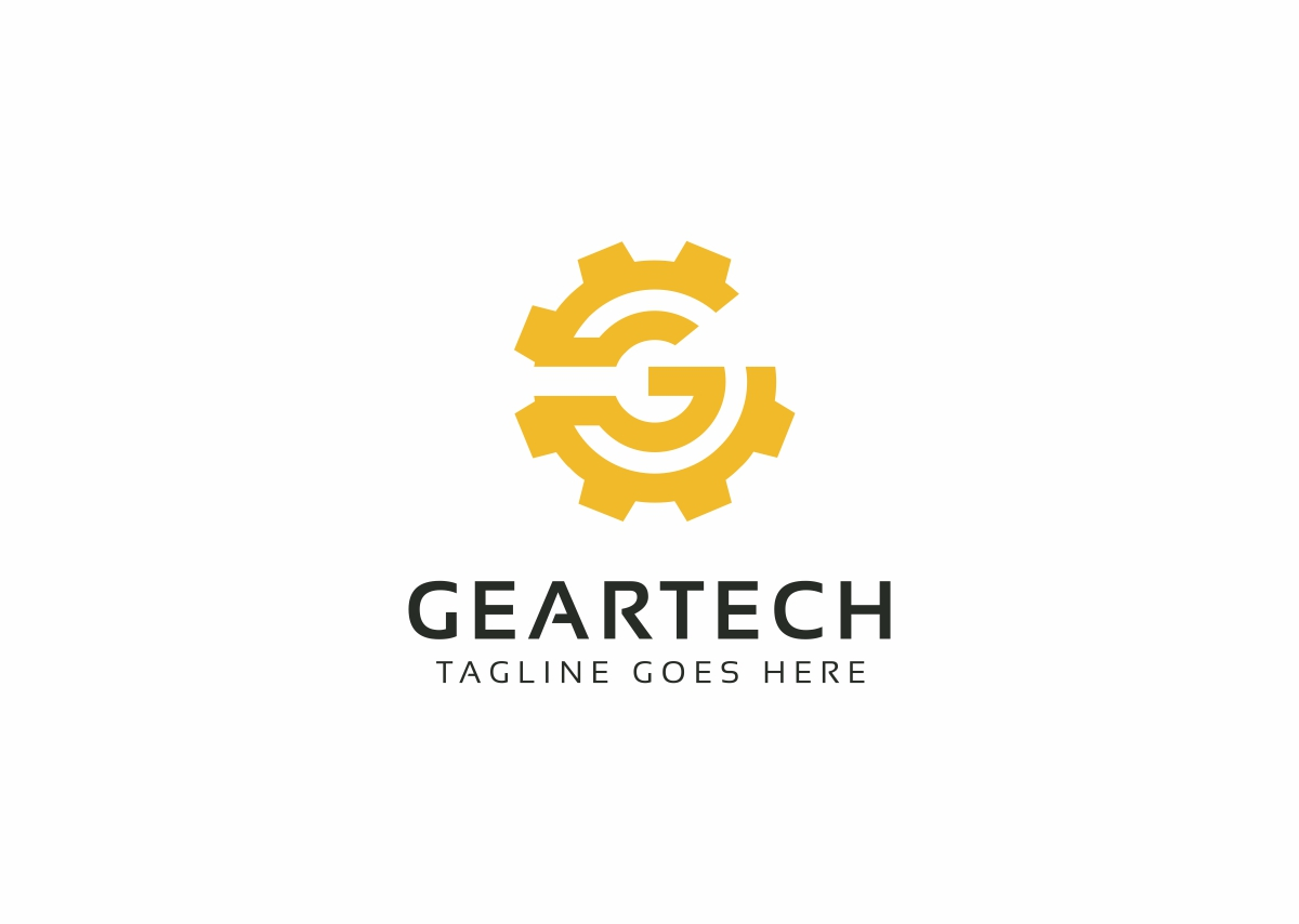 Gear Tech - G Letter Logo Template