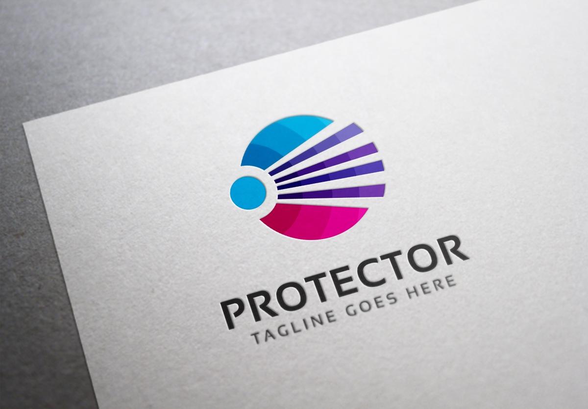 Protector Virtual Logo Template