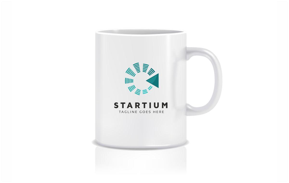 Startium Logo Template