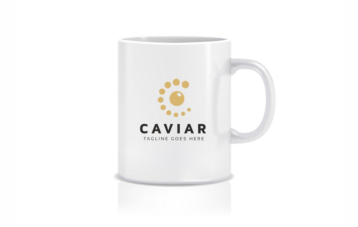 Caviar C Letter Logo Template