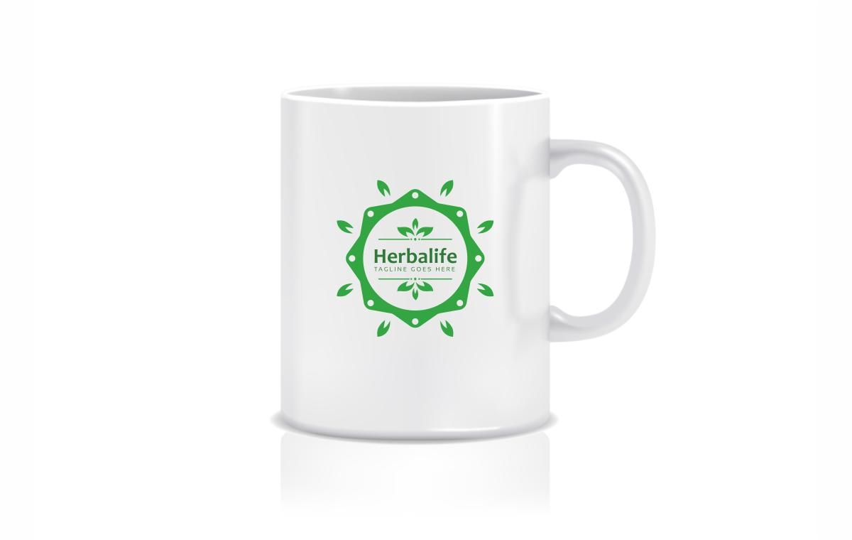Herbalife Health Eco Logo Template
