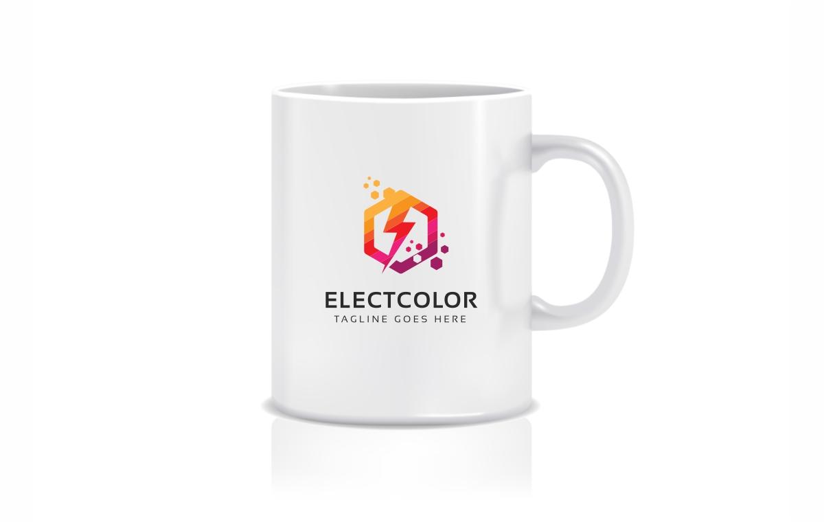 Electro Color Logo Template