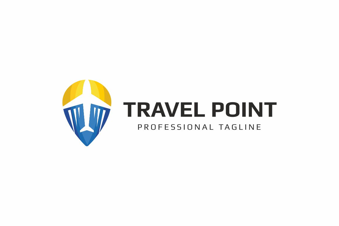 Travel Point Logo Template