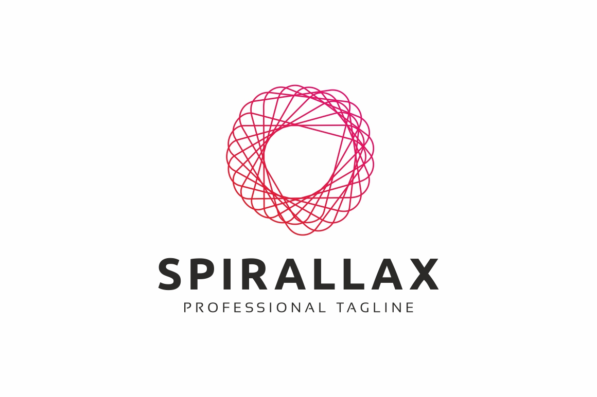Spiral Rotation Logo Template